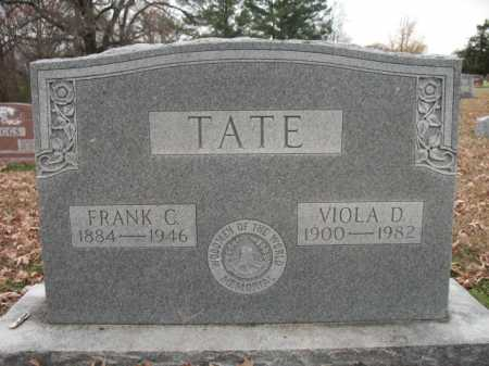 TATE, FRANK C - Cross County, Arkansas | FRANK C TATE - Arkansas Gravestone Photos