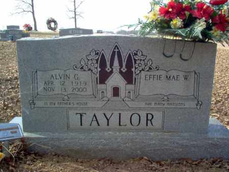 TAYLOR, ALVIN G. - Cross County, Arkansas   ALVIN G. TAYLOR - Arkansas Gravestone Photos