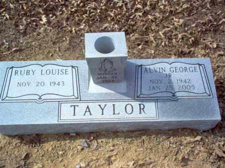 TAYLOR, JR., ALVIN GEORGE - Cross County, Arkansas | ALVIN GEORGE TAYLOR, JR. - Arkansas Gravestone Photos