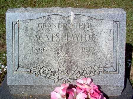 TAYLOR, AGNES - Cross County, Arkansas   AGNES TAYLOR - Arkansas Gravestone Photos