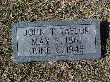 TAYLOR, JOHN T. - Cross County, Arkansas | JOHN T. TAYLOR - Arkansas Gravestone Photos