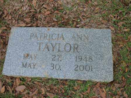 TAYLOR, PATRICIA ANN - Cross County, Arkansas   PATRICIA ANN TAYLOR - Arkansas Gravestone Photos