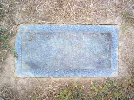 TAYLOR, RACHEL E. - Cross County, Arkansas | RACHEL E. TAYLOR - Arkansas Gravestone Photos