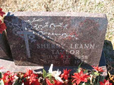 TAYLOR, SHERRY LEANN - Cross County, Arkansas | SHERRY LEANN TAYLOR - Arkansas Gravestone Photos