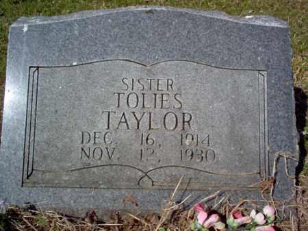 TAYLOR, TOLIES - Cross County, Arkansas | TOLIES TAYLOR - Arkansas Gravestone Photos