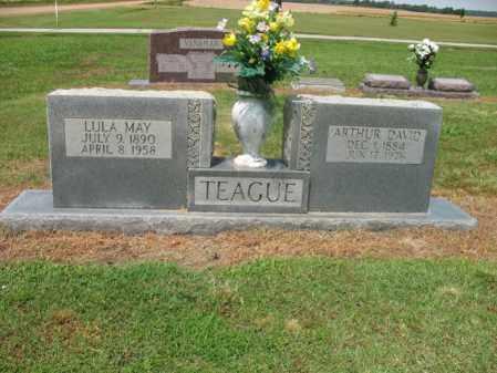 TEAGUE, LULA MAY - Cross County, Arkansas | LULA MAY TEAGUE - Arkansas Gravestone Photos