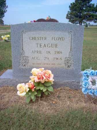 TEAGUE, CHESTER FLOYD - Cross County, Arkansas | CHESTER FLOYD TEAGUE - Arkansas Gravestone Photos
