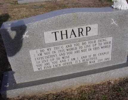 THARP, BETTY - Cross County, Arkansas | BETTY THARP - Arkansas Gravestone Photos