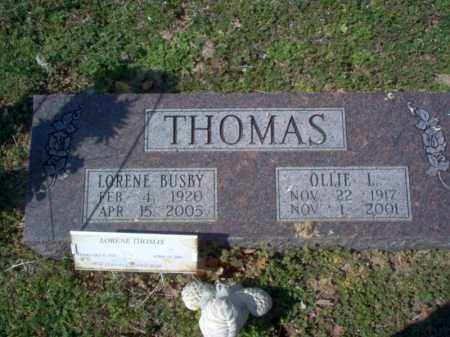 THOMAS, OLLIE L - Cross County, Arkansas | OLLIE L THOMAS - Arkansas Gravestone Photos