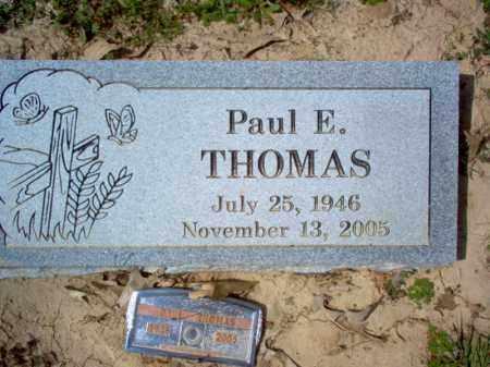 THOMAS, PAUL E - Cross County, Arkansas   PAUL E THOMAS - Arkansas Gravestone Photos