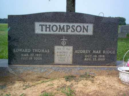 THOMPSON, AUDREY MAE - Cross County, Arkansas   AUDREY MAE THOMPSON - Arkansas Gravestone Photos