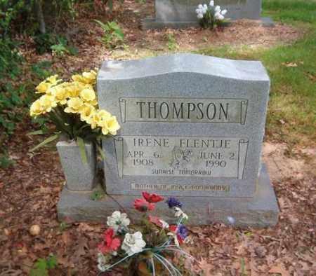 FLENTJE THOMPSON, IRENE - Cross County, Arkansas | IRENE FLENTJE THOMPSON - Arkansas Gravestone Photos