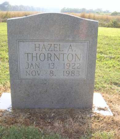 THORNTON, HAZEL A - Cross County, Arkansas | HAZEL A THORNTON - Arkansas Gravestone Photos