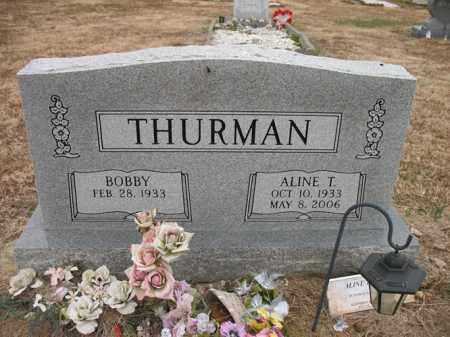 THURMAN, ALINE T - Cross County, Arkansas   ALINE T THURMAN - Arkansas Gravestone Photos