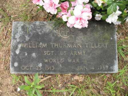 TILLERY (VETERAN WWII), WILLIAM THURMAN - Cross County, Arkansas | WILLIAM THURMAN TILLERY (VETERAN WWII) - Arkansas Gravestone Photos