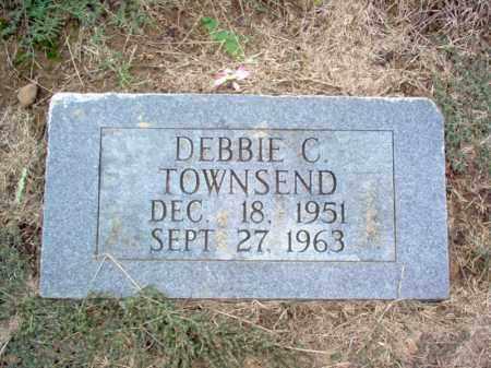 TOWNSEND, DEBBIE C - Cross County, Arkansas | DEBBIE C TOWNSEND - Arkansas Gravestone Photos