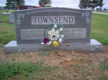 TOWNSEND, LESTER WHITWELL - Cross County, Arkansas | LESTER WHITWELL TOWNSEND - Arkansas Gravestone Photos