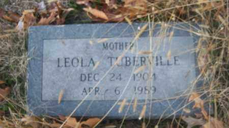 TUBERVILLE, LEOLA - Cross County, Arkansas | LEOLA TUBERVILLE - Arkansas Gravestone Photos