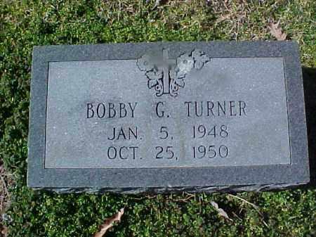 TURNER, BOBBY G - Cross County, Arkansas | BOBBY G TURNER - Arkansas Gravestone Photos