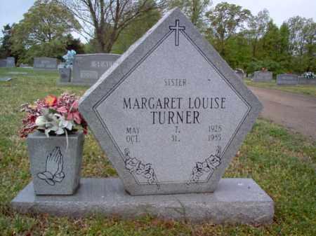 TURNER, MARGARET LOUISE - Cross County, Arkansas   MARGARET LOUISE TURNER - Arkansas Gravestone Photos