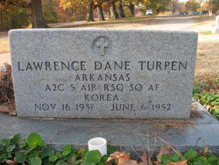 TURPEN (VETERAN KOR), LAWRENCE DANE - Cross County, Arkansas   LAWRENCE DANE TURPEN (VETERAN KOR) - Arkansas Gravestone Photos