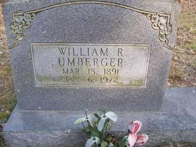 UMBERGER, WILLIAM R. - Cross County, Arkansas   WILLIAM R. UMBERGER - Arkansas Gravestone Photos
