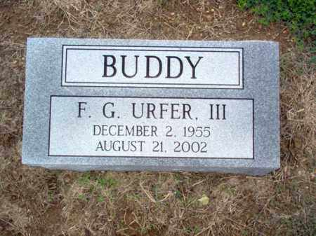 "URFER, III, F G ""BUDDY"" - Cross County, Arkansas | F G ""BUDDY"" URFER, III - Arkansas Gravestone Photos"