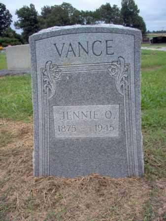 VANCE, JENNIE O - Cross County, Arkansas   JENNIE O VANCE - Arkansas Gravestone Photos