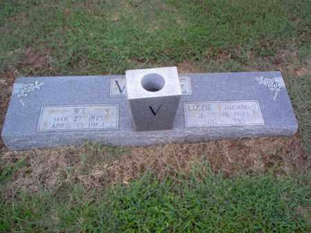 HICKMAN VANCE, LIZZIE - Cross County, Arkansas | LIZZIE HICKMAN VANCE - Arkansas Gravestone Photos