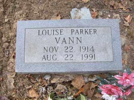 VANN, LOUISE - Cross County, Arkansas | LOUISE VANN - Arkansas Gravestone Photos