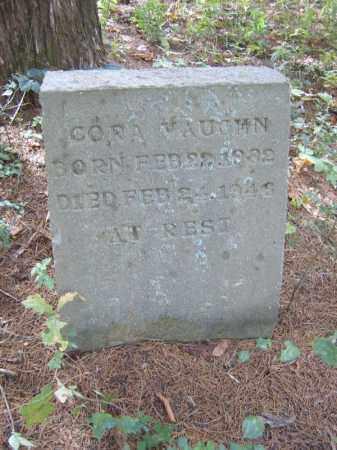 VAUGHN, CORA - Cross County, Arkansas | CORA VAUGHN - Arkansas Gravestone Photos