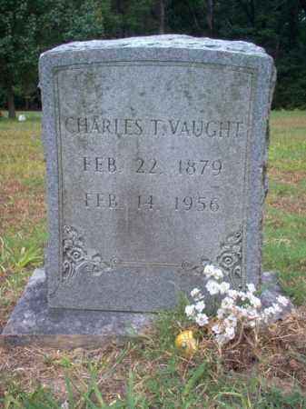 VAUGHT, CHARLES T - Cross County, Arkansas   CHARLES T VAUGHT - Arkansas Gravestone Photos