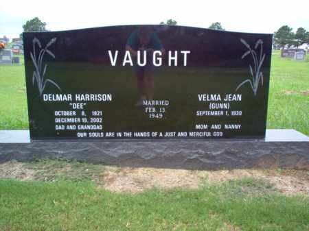 "VAUGHT, DELMAR HARRISON ""DEE"" - Cross County, Arkansas | DELMAR HARRISON ""DEE"" VAUGHT - Arkansas Gravestone Photos"