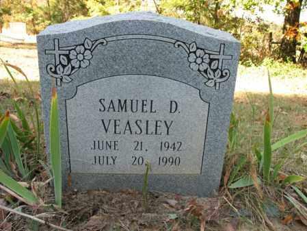 VEASLEY, SAMUEL D - Cross County, Arkansas   SAMUEL D VEASLEY - Arkansas Gravestone Photos