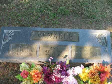 VENABLE, HAZEL - Cross County, Arkansas | HAZEL VENABLE - Arkansas Gravestone Photos