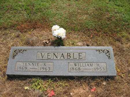 VENABLE, TENNIE K - Cross County, Arkansas | TENNIE K VENABLE - Arkansas Gravestone Photos