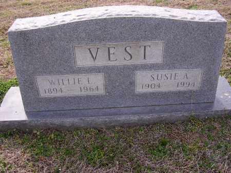 VEST, WILLIE L - Cross County, Arkansas | WILLIE L VEST - Arkansas Gravestone Photos