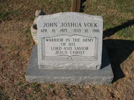VOLK, JOHN JOSHUA - Cross County, Arkansas   JOHN JOSHUA VOLK - Arkansas Gravestone Photos