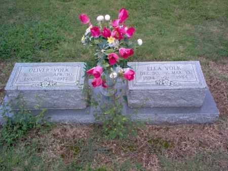 VOLK, ELLA - Cross County, Arkansas | ELLA VOLK - Arkansas Gravestone Photos