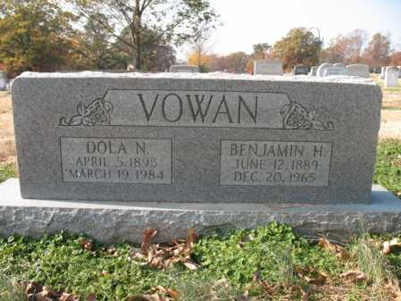 VOWAN, BENJAMIN H - Cross County, Arkansas | BENJAMIN H VOWAN - Arkansas Gravestone Photos
