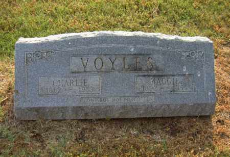 VOYLES, CHARLIE - Cross County, Arkansas | CHARLIE VOYLES - Arkansas Gravestone Photos