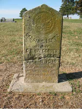 LEMTZ WAGGONER, CAROLINE - Cross County, Arkansas | CAROLINE LEMTZ WAGGONER - Arkansas Gravestone Photos