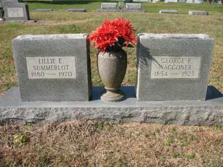 WAGGONER, GEORGE R - Cross County, Arkansas | GEORGE R WAGGONER - Arkansas Gravestone Photos