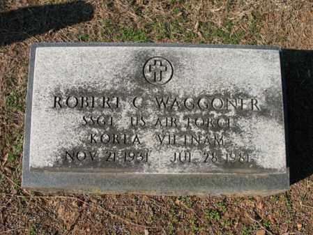 WAGGONER (VETERAN 2 WARS), ROBERT C - Cross County, Arkansas | ROBERT C WAGGONER (VETERAN 2 WARS) - Arkansas Gravestone Photos