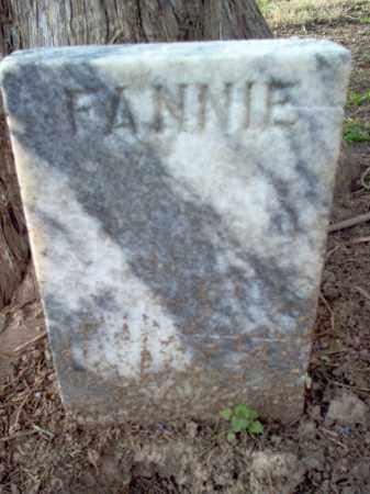 WALKER, FANNIE - Cross County, Arkansas   FANNIE WALKER - Arkansas Gravestone Photos