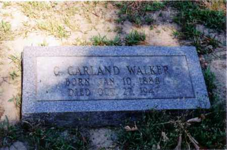 WALKER, G. GARLAND - Cross County, Arkansas | G. GARLAND WALKER - Arkansas Gravestone Photos