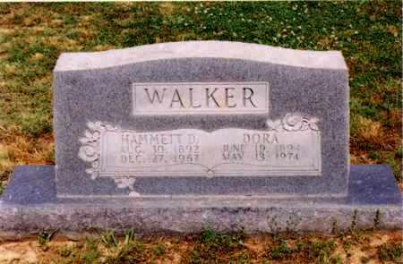 WALKER, DORA - Cross County, Arkansas | DORA WALKER - Arkansas Gravestone Photos