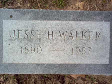 WALKER, JESSE H - Cross County, Arkansas | JESSE H WALKER - Arkansas Gravestone Photos