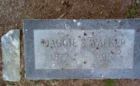 WALKER, MAGGIE S - Cross County, Arkansas   MAGGIE S WALKER - Arkansas Gravestone Photos