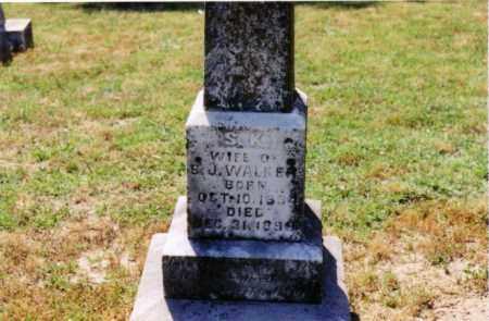 WALKER, S. K. - Cross County, Arkansas | S. K. WALKER - Arkansas Gravestone Photos